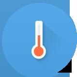 В хамаме - умеренная температура